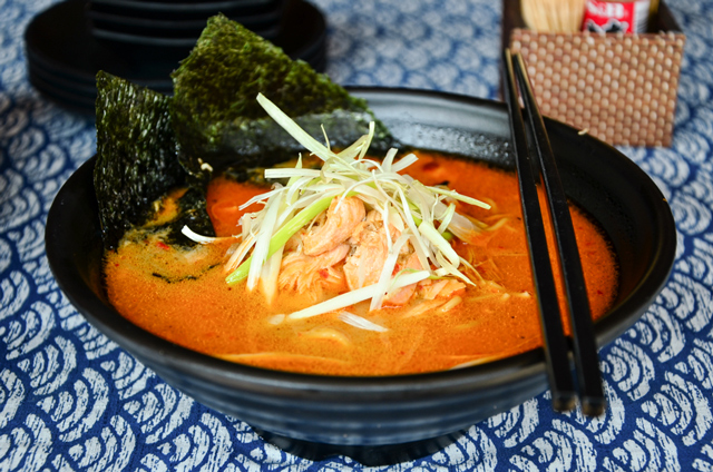 salmon ramen halal thick broth japanese halal