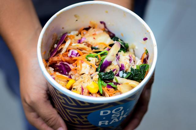 halal korean bibimbap food photography downtown gallery