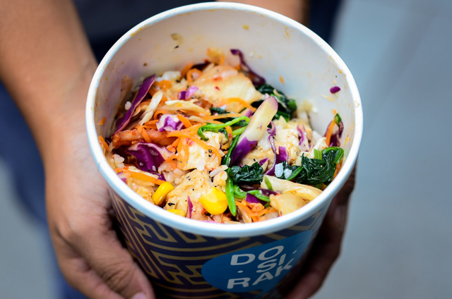 halal korean bibimbap food photography downtown gallery