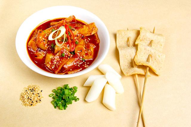 halal korean tteokbokki classic fishcake authentic korean food