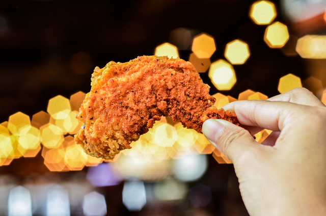 chicken wings food photography western halal