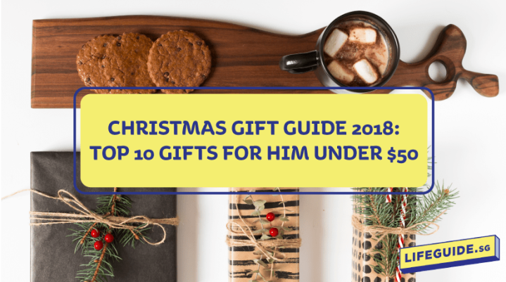 Christmas Gift Guide 2018: Top Gifts for Him under $50