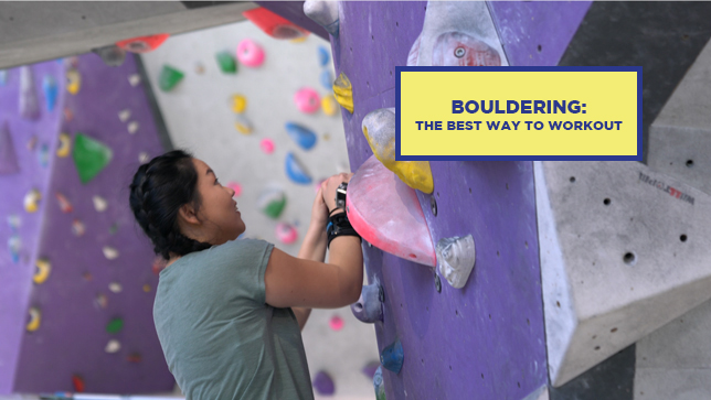 Bouldering: The Best Way To Work Out