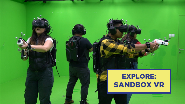 Best VR Experience in Singapore: Sandbox VR