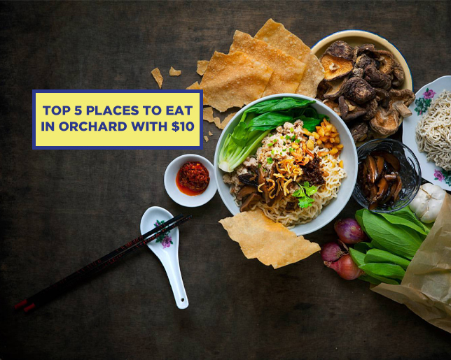 TOP 5 PLACES TO EAT IN ORCHARD WITH $10