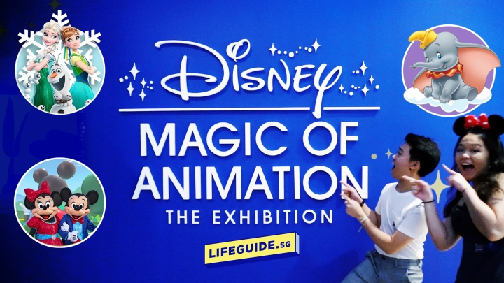 Disney: Magic of Animation Exhibition