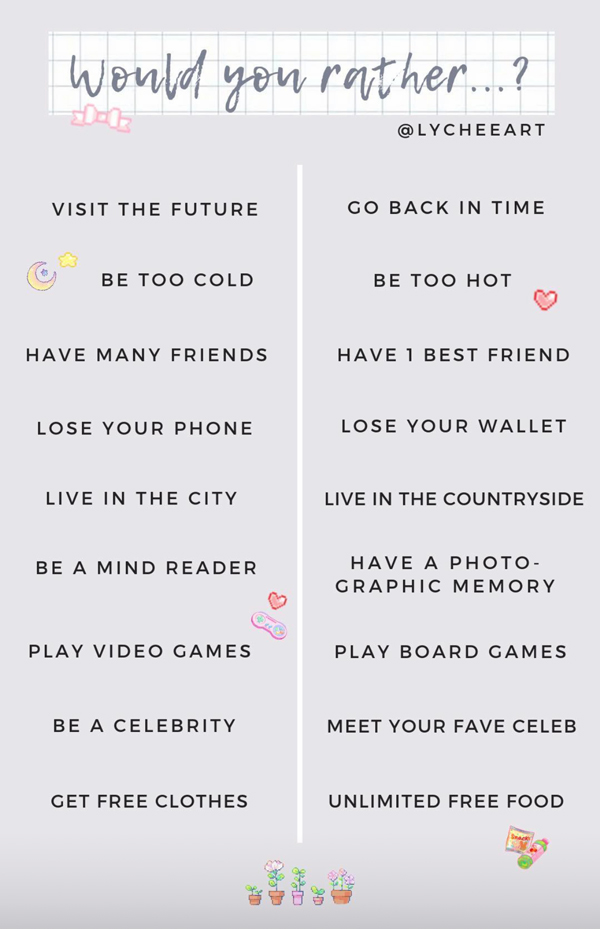 Instagram Story Game Template