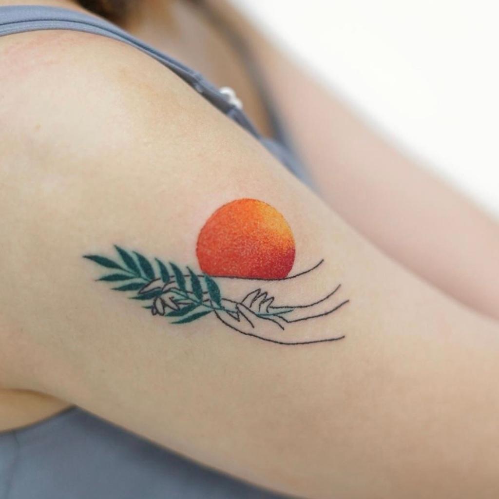 Singapore Needle Tattoo Colour