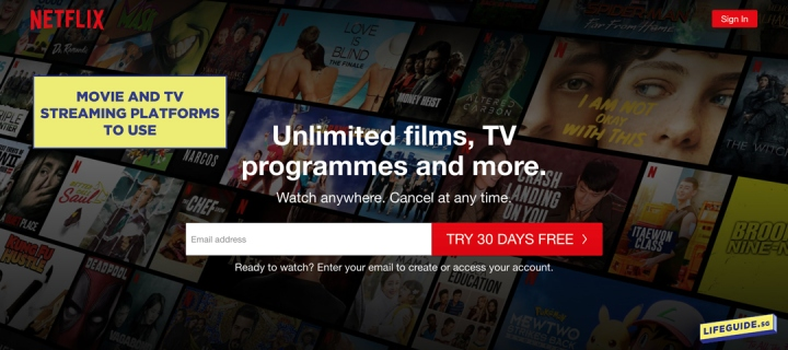 Movie and TV Streaming Platforms to Use (Including Free Alternatives)