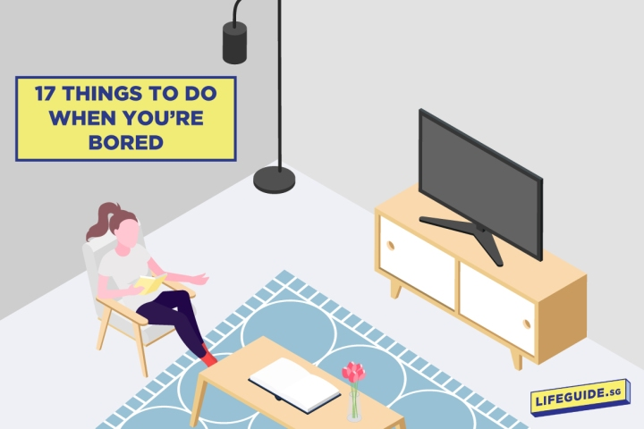 17 Activities When Bored