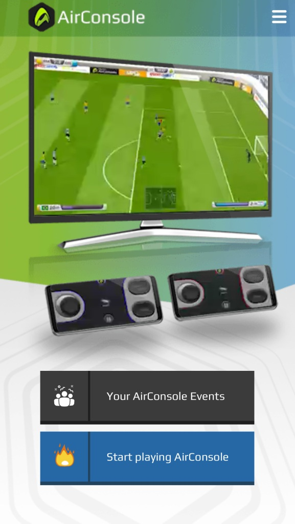 Airconsole Game Phone Controller