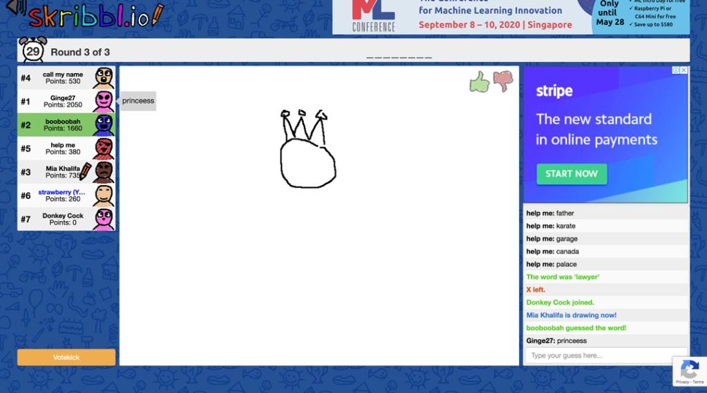 Drawing Sketching Guessing Game