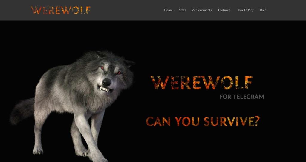 Werewolf Game Chat Friends Telegram