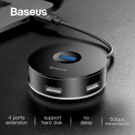USB C Round Hub Adapter