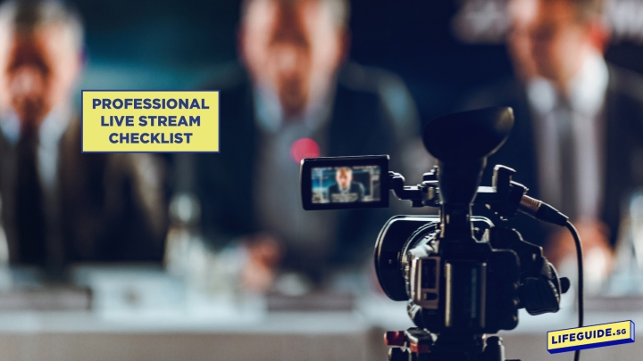 Professional Live Stream Checklist: A Guide to the Necessary Equipment and Software